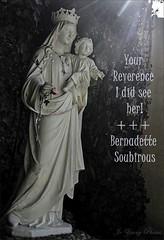 Poetography-Our Lady Of Lourdes (Oh Ya, Winter's Here..Bring Snow Plz!) Tags: beautiful movie vision ourladyoflourdes bernadettesoubirous poetography massabielle jenniferjones lourdesfrance thesongofbernadette