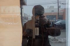 Hello! (rockerlan) Tags: hello nyc newyork reflection shot sony queens astoria hi rx100
