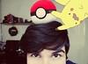Pikachu? (@Joaopmayer) Tags: guy nerd geek nintendo gamer kawaii pikachu pokemon ash kanto pokeball gamefreak pallettown