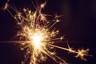 Macro + Sparkler = Magic