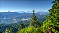Mt Shasta From Mt Ashland - Brighter copy (ScottElliottSmithson) Tags: california mountain nature northerncalifornia oregon canon landscape eos volcano 7d mountshasta siskiyou mtshasta volcanic ashland cascademountains cascaderange mtashland eos7d dtwpuck scottsmithson scottelliottsmithson