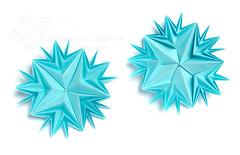 Shining star (_Ekaterina) Tags: blue paper square stars star video origami modular paperfolding origamipaper tutorial corrugation folding modularorigami origamistar origamistars unitorigami оригами origamimodulare модульноеоригами lukashevaekaterina lukasheva ekaterinalukasheva бумажный екатериналукашева 5unitmodel