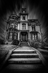 The Haunted Victorian (Frank C. Grace (Trig Photography)) Tags: history abandoned dark ma decay massachusetts ghost victorian newengland historic haunted creepy spooky ghosts mansion paranormal author gardner investigation trigphotography frankcgrace skpierce bonesinthebasement jonimayhan