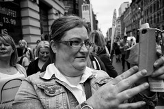 Proud Mum (nigelhunter) Tags: street woman proud manchester candid mother mum spectator