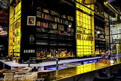 'Postmodern' Coffee Shop! (Raphael de Kadt) Tags: postmodern johannesburg interior bookshop exclusivebooks hydeparkcorner southafrica coffeeshop socialkitchenandbar gauteng africa backlight