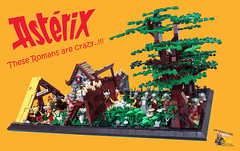 These Romans are crazy..!! (Mpyromaxos) Tags: asterix obelix romans crazy gaul mpyromaxos lego village