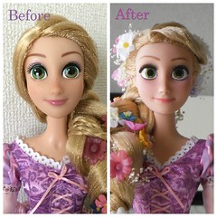Singing doll Rapunzel custom repainted doll (MINAcocodolls) Tags: tangled rapunzel raiponce disney doll repaint ooak custom tangledrapunzel disneyprincess disneyprincessdoll repainteddoll flower ooakdoll dollpohotos disneydolls disneydoll                beforeafter faceup