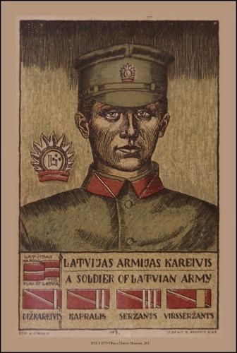 2016 S 2579 Cēsis a History Museum_264 A Soldier of Latvian army Latvian Riflemen Regiment