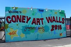 Brooklyn: Coney Art Walls (wallyg) Tags: brooklyn coneyartwalls coneyisland kingscounty newyork newyorkcity ny nyc streetart mural