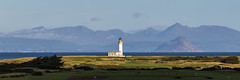 Turnberry Lighthouse - Panoramic (dalejckelly) Tags: canon turnberry trump golf course sunrise scotland scottish lighthouse isle arran mountains mountain coast coastline sea seaside ocean water autumn landscape 70300l