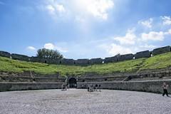 Pompei (Gothic74) Tags: fujifilm xm1 fujinon xc1650mm pompeii pompei italia napoli naples anfiteatro