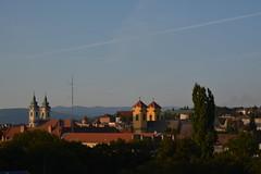 uitzicht over Eger (snoeziesterre) Tags: reizen treinreizen nvbs sne 2016 hongarije sloveni oostenrijk treinen trains traintravels traveling eger