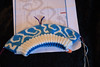 IMG_0913 (tinksdarkerside) Tags: cheesehead doubleknitting project ravelry knitting hat swirly