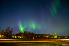 Aurora on E4 Highway - Sweden.jpg (SWTRIPS) Tags: long exposure swtrips roadtrip aurora night photography scandinavia sweden longexposure nightphotography