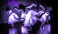 Purple light Ballet (tibchris) Tags: ballet purple ledlight arieldanceproductions ariel arieldancestudios performance inside afterdark dance ballerinas