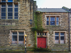 church hall (lowooley.) Tags: church hall haltwhistle damp mossy