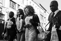 ongoing party (petdek) Tags: blackandwhite monochrome street people spirit berchem beauty