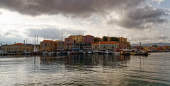 Chania_02_17102016-1038 (john houv) Tags: chania crete mediterranean oldharbour oldharbor lighthouse reflection