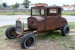 Ford Model A (twm1340) Tags: ford truck f100 gibbon ne nebraska rv trip