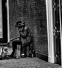 Hendrix lives? (john Truman) Tags: hendrix jimi rockstar brick lane london busker voodoo chile