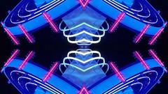 395 (MichaelTimmons) Tags: abstract symmetry neon lights lines digitalart artwork art blue