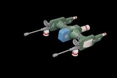 Strahl Fledermaus (pasukaru76) Tags: canon100mm lego mak space starfighter strahl sdr maktoberfest maktoberfest2016 moc