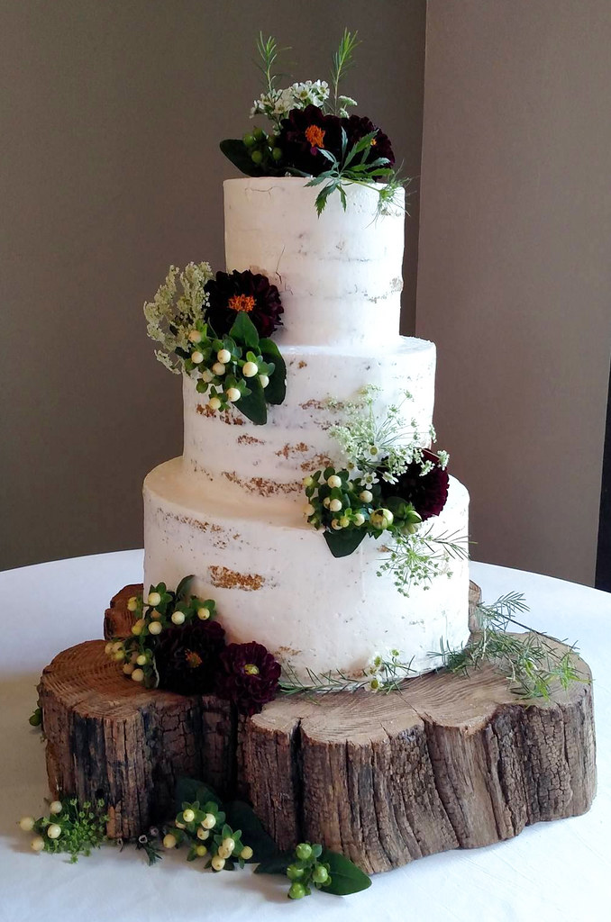 Barely Iced Cake With Fresh Flowers Just Simply Delicious Tags