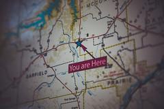 You are here (Tony Webster) Tags: montana montana200 montana24 bokeh map restarea roadmap rural brockway mt unitedstates us