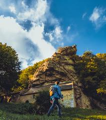 La Chapelle grave dans la roche (ThibaultPoriel) Tags: bretagne tourisme france explore europe olympus omd markii cinematic