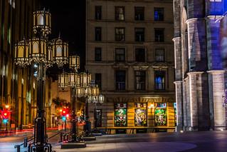 Les lampadaires de la Place d'armes