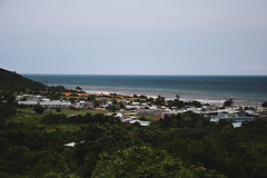 Phan Thit (Trang |C-Cat|) Tags: vietnam coastline ocean blue nikon d3300 asia coast beach southeast southeastasia green houses village