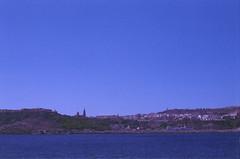 Gozo, august 2014 (Tefilo de Sales) Tags: malta island ferry sea water meditarrean sky summer blue film fuji fujifilm fujixtra400 nikkormatel nikkormat nikon nikkor analog analogic 50mm 35mm erasmus trip expired gozo