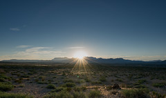 Sunrise in the Chisos