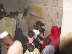 El-Kurru (nubianimage) Tags: nubia nubianimagearchive elkurru cemetery royal people wallpainting heritage