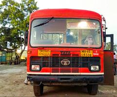 Hinganghat - Aurangabad (yogeshyp) Tags: msrtc st msrtcparivartanbus hinganghatst