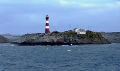Hellisøy Lighthouse near Bergen Norway