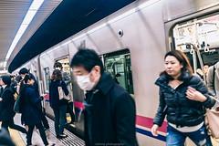 DSC_3801 (juor2) Tags: crowds d4 nikon scene street streetsnap tokyo subway rushhour japan