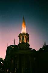 All Souls, Langham Place (oh it's amanda) Tags: london londonengland uk pentaxespiomini pentaxuc1 fujisensia200 xpro crossprocessed expiredfilm