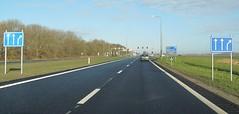 N305 Zeewolde-7 (European Roads) Tags: n302 n305 zeewolde harderwijk flevoland 2x2 autoweg nl netherlands