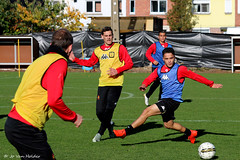 IMG_5813 (KV Mechelen) Tags: nicolas verdier mohammed zeroual randall leal juegdvelden veld bal training