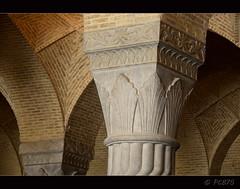 Capitells (PCB75) Tags: iran shiraz persia persian shirazi vakilmosque  masjedevakil mesquita mezquita mosque 18th xviii 1751 1773 zandperiod restored xix 19th qajarperiod regent karimkhan founder shabestan columna columnes bosc tile tiles