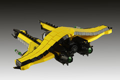 Wespe (stephann001) Tags: fighter space schip lego classic viper vic