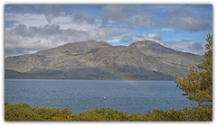 Room with a View.. (Harleynik Rides Again.) Tags: harleynikridesagain glenelg rainbow kylerhea isleofskye