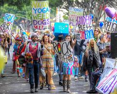 Yep, We're in California, All Right! (Non Paratus) Tags: 39th doodahparade people parade pasadena crowd marchers rockers hippies southerncalifornia california socal