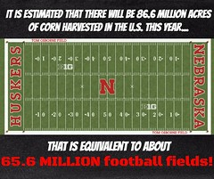 Football Field vs. Acres