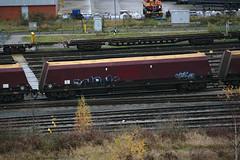 310058 Toton 031216 (Dan86401) Tags: 310058 310 hta bogie coal hopper wagon freight thrall ews db dbcargo toton 6m03