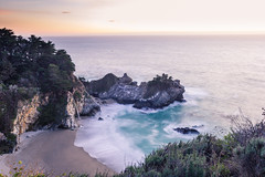 McWay Falls, November 2016 #3 (satoshikom) Tags: canoneos60d canonef1635mmf28liiusm ndx16 juliapfeifferburnsstatepark mcwayfalls californiastateparks californiacoast weekend beach
