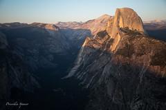 Half Dome Sunset (priscellie) Tags: yosemite nationalpark california landscape halfdome sunset yosemitenationalpark