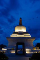 white stupa (kangxi504) Tags: lhasa tibet china night