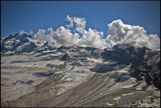 A view from the Refuge of Matterhorn & Hörnli, No, 1762.